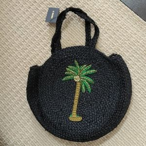 Forever 21 Palm tote bag